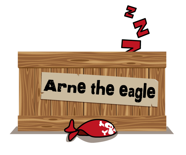 Kajle-Ale and Arne the Eagle